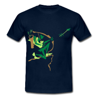 Archer Shooting Arrow – Sport Club T-Shirts