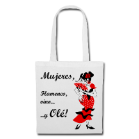 Bag Design - Sexy Spanish Woman