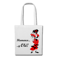 Bag Design - Woman Flamenco