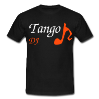 Black Man T-shirt - Party Tango DJ