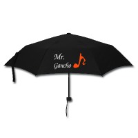 Black Tango Umbrella - Mr Gancho