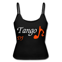 Black Woman T-shirt - Tango Party DJ