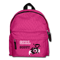 Children School Bag - Girl Scout