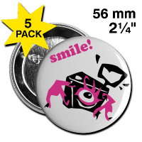 Digital Photo Camera – Smile!! Buttons