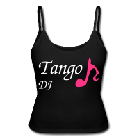 Disco T-shirt - Party Tango DJ