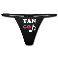 Erotic Tanga Underwear - Music Dance