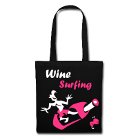 Funny Bag Design - Wine Surfing