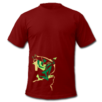 Man T-shirt - Medieval Warrior