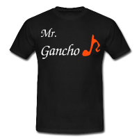 Man T-shirt - Music Dance