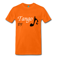 Man T-shirt - Party Tango DJ