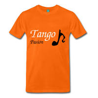 Man T-shirt Tango Musical Note