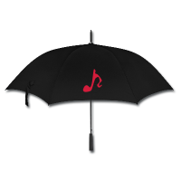 Music Umbrella - It's Raining Men