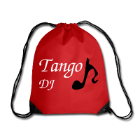 Red Bag Musical Note - Tango DJ