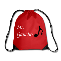 Red Tango School Bag - Funny Note