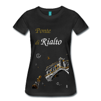 Rialto T-shirt Grand Canal - Venice Drawing
