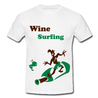 Surfing - Funny Man Sport T-Shirts
