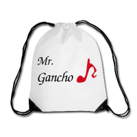 Tango Shoes Bag - Red Musical Note