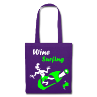Wine Surfing - Bag Design