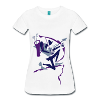 Woman Art T-shirt - Robin Hood
