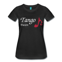 Woman T-shirt I Love Tango Music