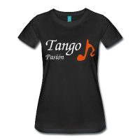 Woman T-shirt - Tango Music Dance
