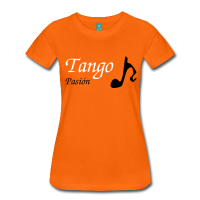 Woman T-shirt Tango Musical Note